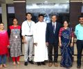 Visit by DRDO Scientist from Naval Science and Technological Laboratory